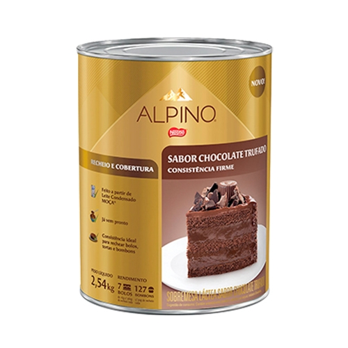 COB E RECH CHOCOLATE ALPINO 2,540 KG