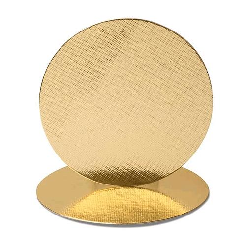 Base para Torta Ouro Redonda 21cm - 10 und.