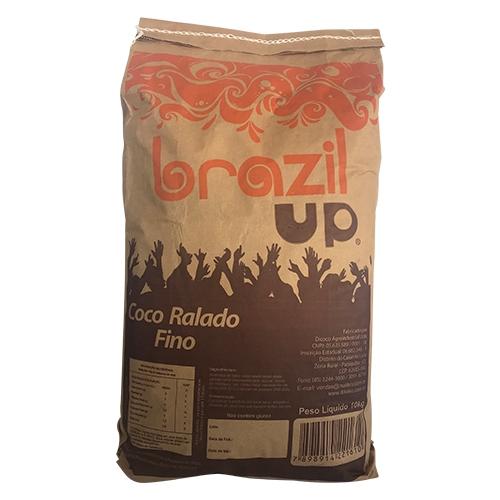 COCO RALADO PURO FINO BRAZIL UP 10 KG
