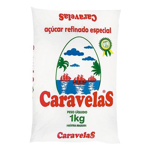 AÇÚCAR REFINADO CARAVELAS 10/1 KG