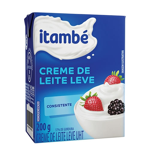 CREME DE LEITE ITAMBÉ TP 27-200GRS