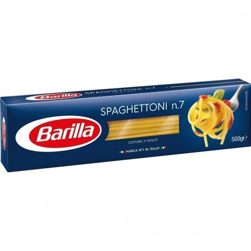 MACARRÃO SPAGHETTONI N° 7 BARILLA 25/500 GR