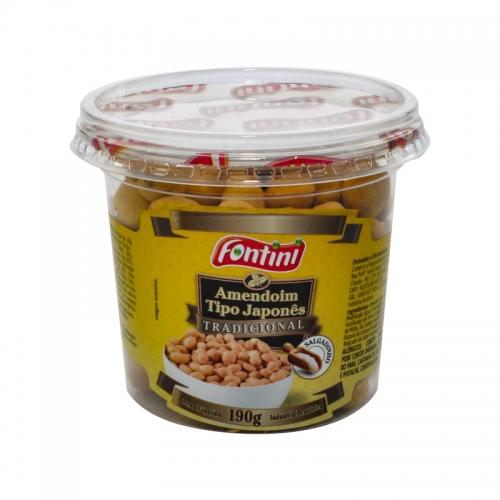 Amendoim pote Salgado Fontini 12 und. 190 gr