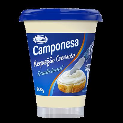 REQUEIJÃO CREMOSO CAMPONESA CP 12/200 GR