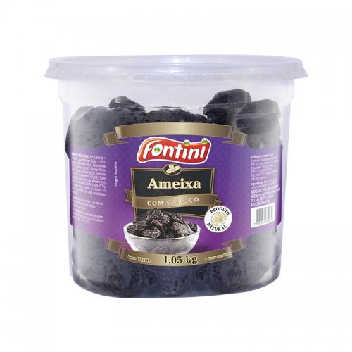 Ameixa Seca c/ Caroço Fontini 1,05 Kg