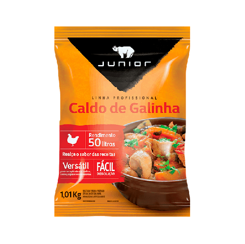 CALDO DE GALINHA JUNIOR 1,1 KG