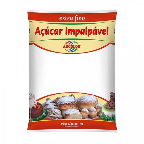 ACUCAR IMPALPAVEL CONF ARCOLOR 1 KG