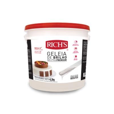 Rich's Geleia de Brilho Neutra Premium - Balde 4,2Kg