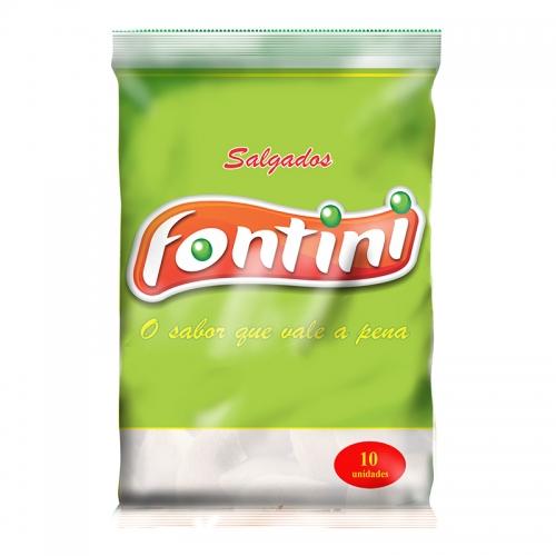 Salgado Congelado Grande Bolinho de Mandioca Fontini 5x10 uni.