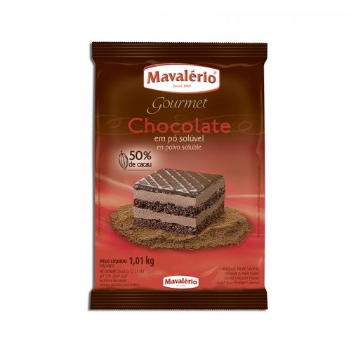 Chocolate em pó 50% Mavalério 1kg
