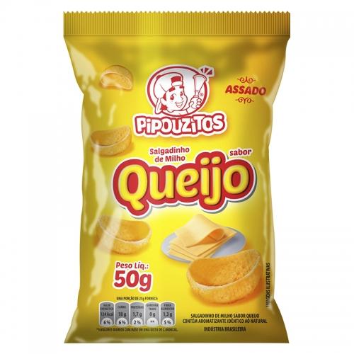 SALGADINHO QUEIJO PIPOUZITOS 10/50 GR