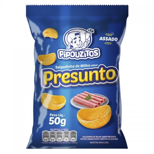 SALGADINHO PRESUNTO PIPOUZITOS 10/50 GR
