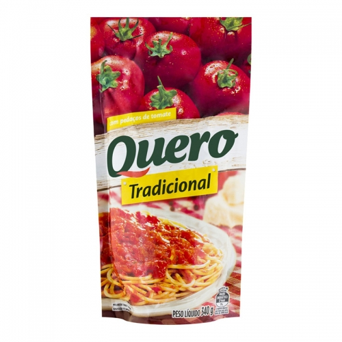 MOLHO TOMATE QUERO POUCH 1,02 GR