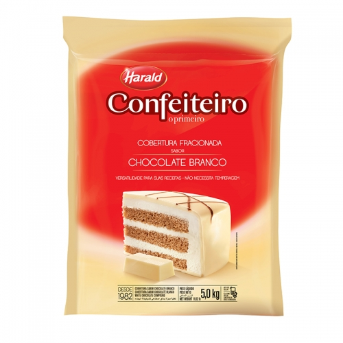 Barra de Chocolate Confeiteiro Branca 5kg