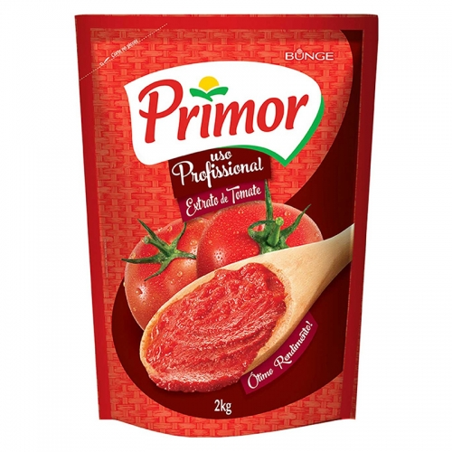EXTRATO TOMATE PRIMOR POUCH 2 KG