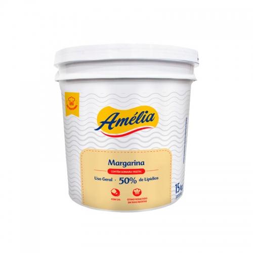 Margarina Amélia 50% Lipídeos 15 Kg