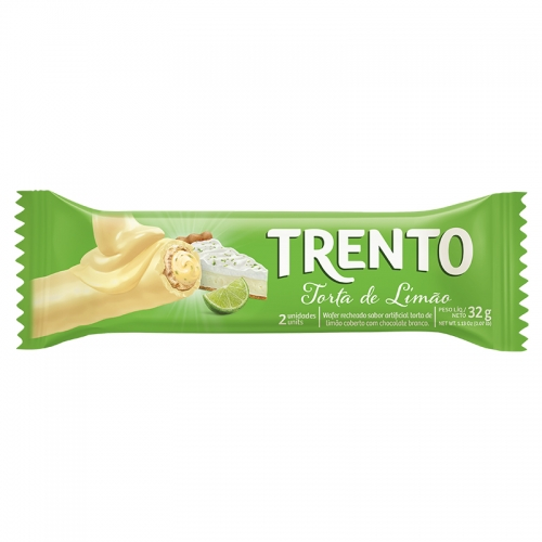CHOCOLATE TRENTO TORTA LIMAO 16/32 GR
