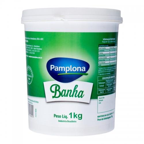 BANHA SUINA POTE PAMPLONA 1 KG