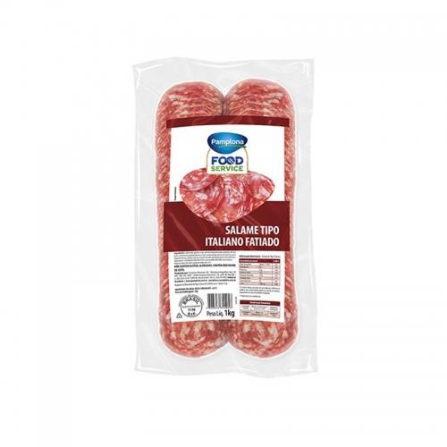 Salaminho Italiano Fatiado Pamplona 1 kg