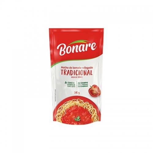 MOLHO TOMATE TRAD BONARE POUCH 24/340 GR