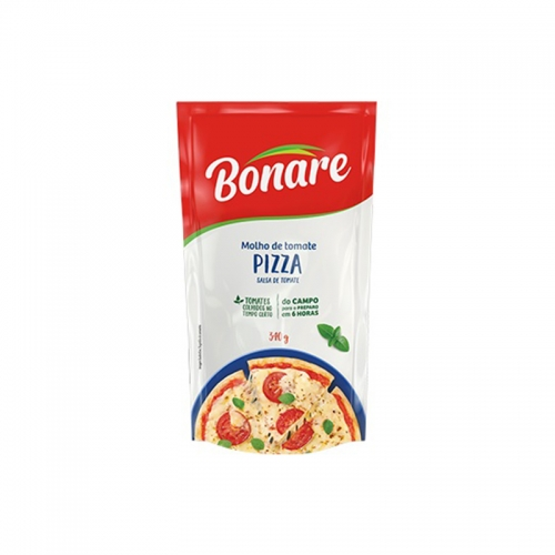 MOLHO PIZZA BONARE POUCH 24/340 GR