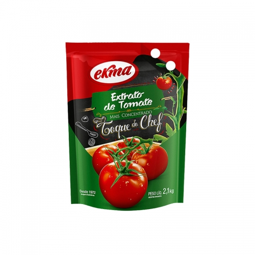 EXTRATO TOMATE EKMA POUCH 2,1 KG