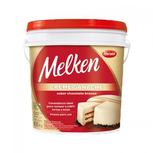 Ganache Chocolate Branco Melken Harald 4kg