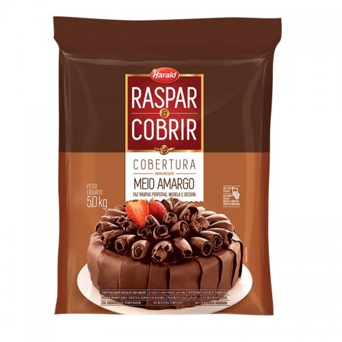 Barra de Chocolate Harald Raspar e Cobrir Meio Amarga 5kg