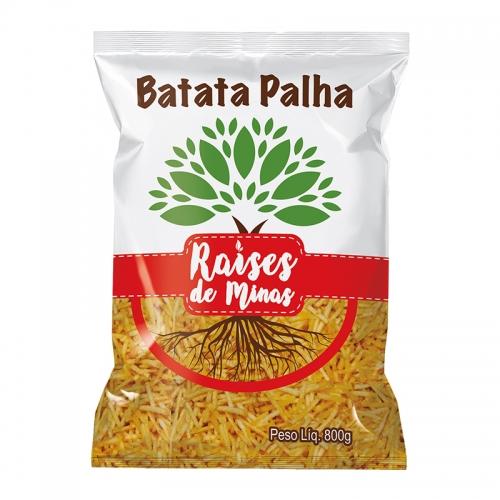 BATATA PALHA RAIZES DE MINAS 800 GR