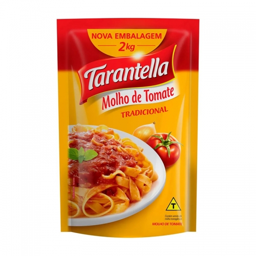 EXTRATO TOMATE TARANTELLA BAG 2 KG