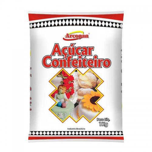 ACUCAR CONFEITEIRO ARCOPAN ARCOLOR 1 KG