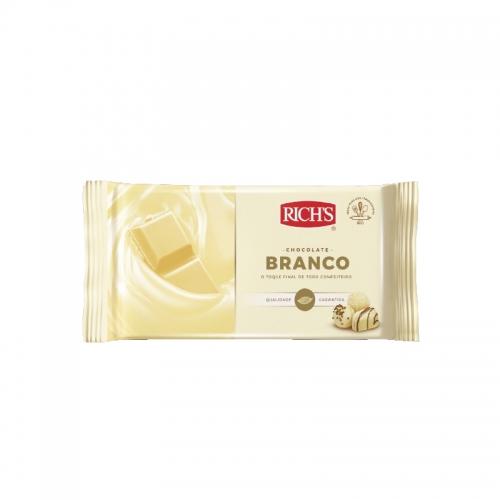 BARRA CHOC RICHS BRANCA 2,3 KG