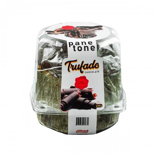 PANETONE TRUF CHOCOLATE FONTINI 8/600 GR
