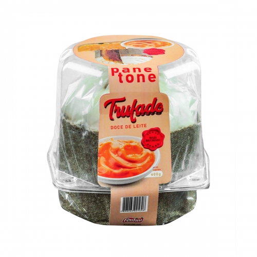 PANETONE TRUF DOCE LEITE FONTINI 8/600GR
