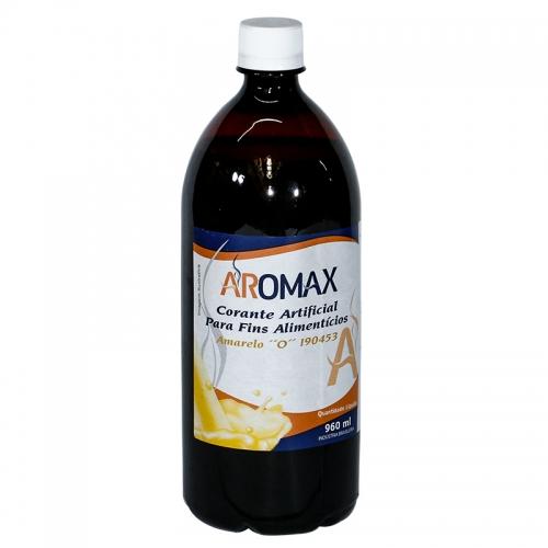Corante Amarelo Ovo Líquido Aromax - 960 ml