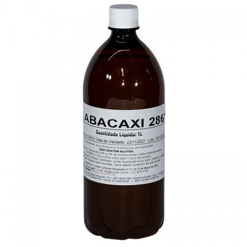 Essência Aromax Abacaxi - 1 lt
