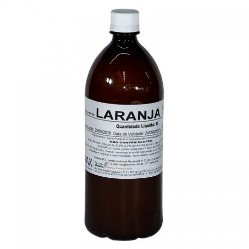 Essência Aromax Laranja - 1 lt