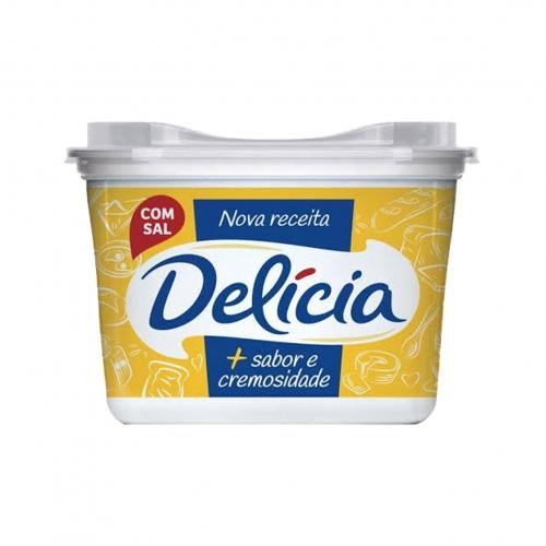 Margarina Delícia com Sal - 12 uni. de 500 grs