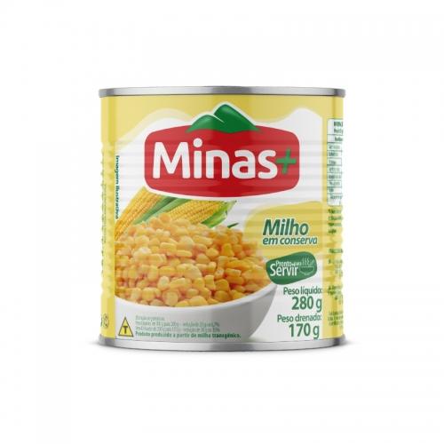 MILHO VERDE MINAS MAIS LATA 24/170 GR
