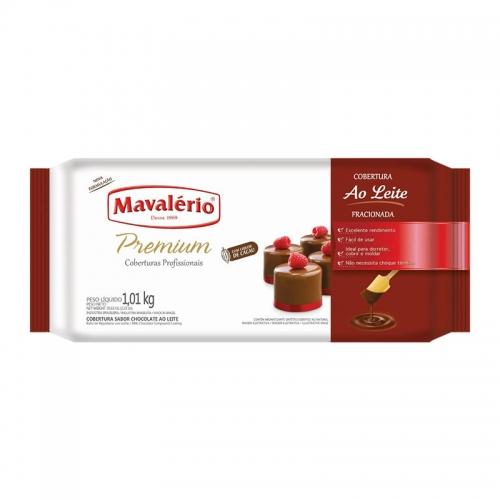 Barra de Chocolate Mavalério ao Leite 1,01kg