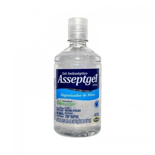 ALCOOL GEL 70° ASSEPTGEL START 24/420 GR