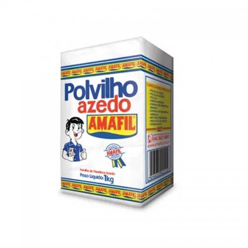 Polvilho Azedo Amafil - Papel | Fardo 20 uni. de 1Kg
