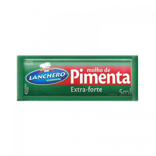 Sachet Molho Pimenta Lanchero 5ml - 190 uni.