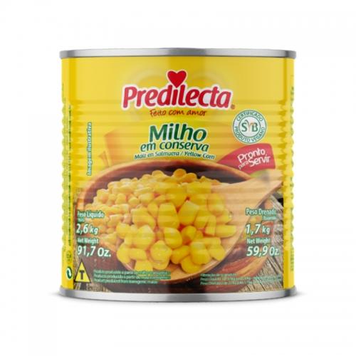 MILHO VERDE PREDILECTA LATA 1,7 KG
