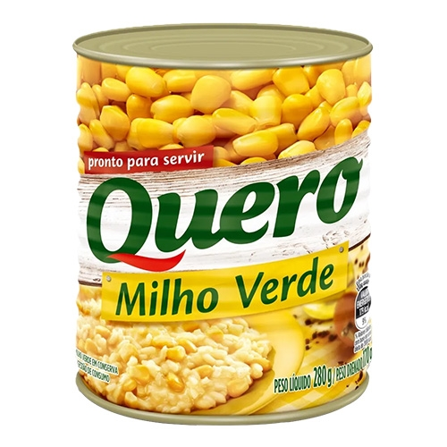 MILHO VERDE QUERO LATA 24/170 GR