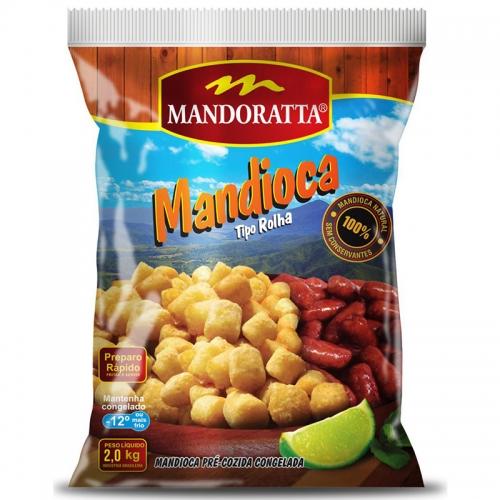 MANDIOCA MANDORATA CONGELADA 5/2 KG