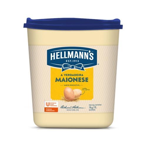 Maionese Hellmann's 3kg