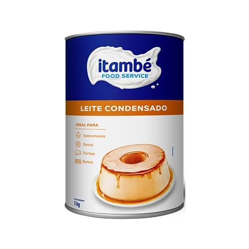LEITE CONDENSADO ITAMBÉ LATA 5 KG