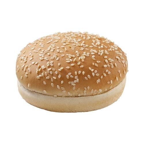Pão de Hambúrguer Riviera c/ Gergelim Cortado - 270 uni. de 52 grs
