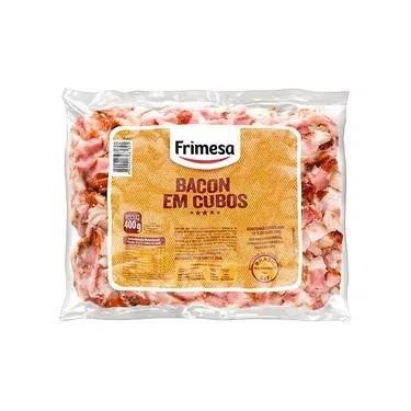 Bacon em Cubos Frimesa - Caixa com 8 unidades de 1kg